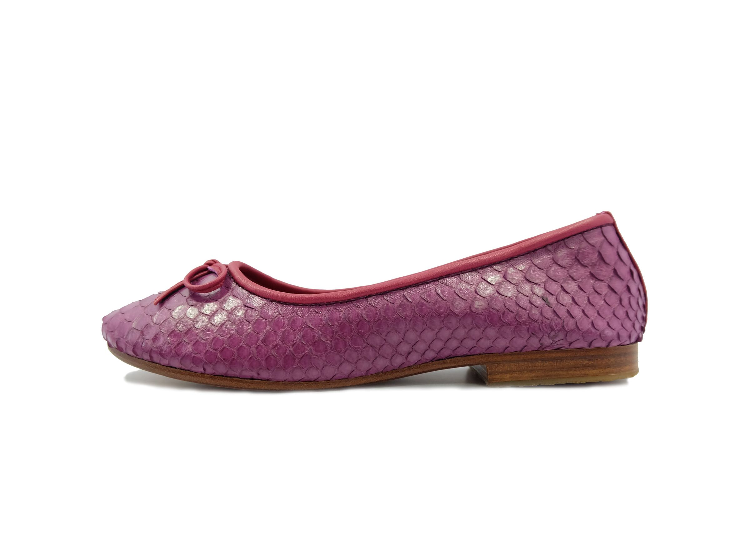 Rattle Flat Shoes